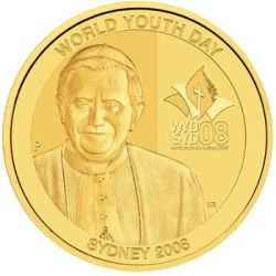 World Youth Day Sydney 2008 1oz Gold Proof Coin